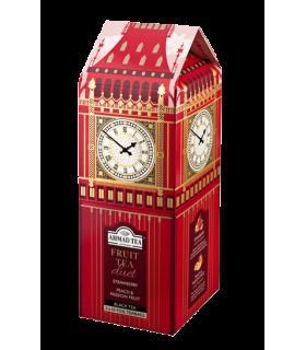 Ahmad Tea چای میوه ای طرح ساعت بیگ بن لندن
