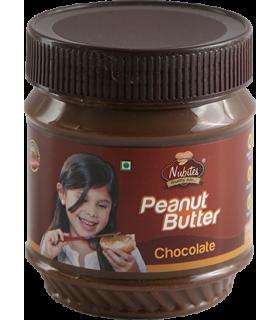 Nubites کره بادام زمینی شکلاتی 340 گرمی نوبایتز