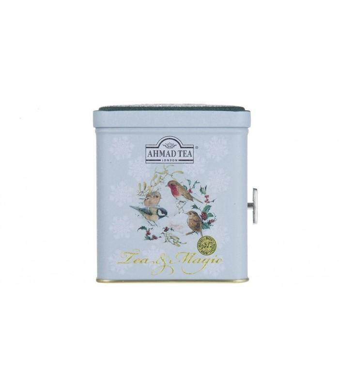 Ahmad Tea چای جعبه فلزی موزیکال 80 گرمی احمد تی