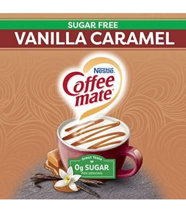 Nestle کافی میت 280 گرم بدون شکر و بدون گلوتن با طعم وانیل کارامل نستله