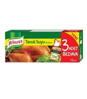 Knorr عصاره مرغ 12 عددی کنور