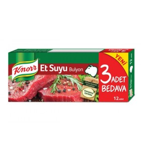 Knorr عصاره گوشت 12 عددی کنور