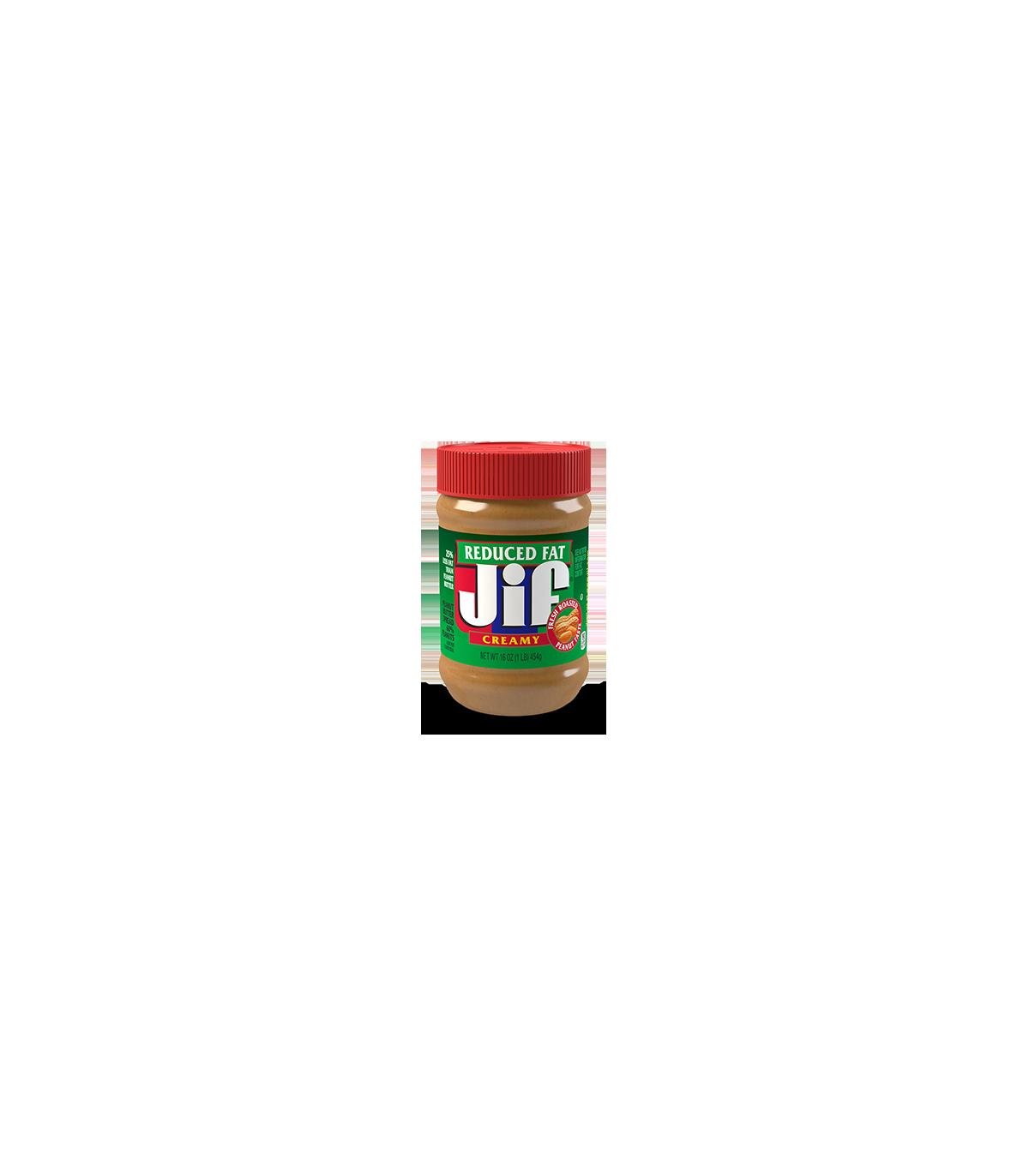 Jif کره بادام زمینی کم چربی کرمی جیف