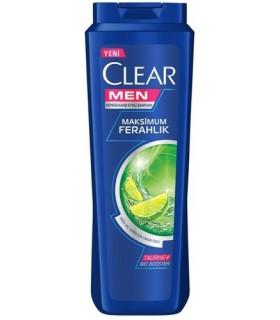 Clear شامپو مردانه موی چرب لیمو 550 میل کلیر