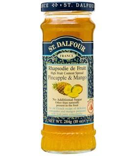 St Dalfour مربای صد در صد خالص آناناس و انبه 283 گرمی سنت دالفور