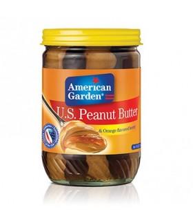American Garden کره بادام زمینی با عسل 510 گرمی امریکن گاردن
