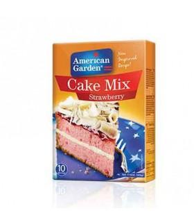 American Garden پودر آماده کیک توت فرنگی 500 گرمی امریکن گاردن