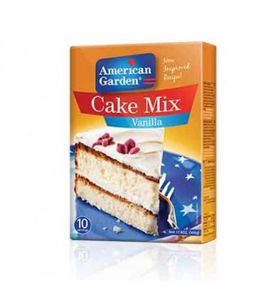 American Garden پودر آماده کیک وانیل 500 گرمی امریکن گاردن