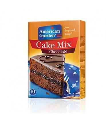 American Garden پودر آماده کیک شکلات 500 گرمی امریکن گاردن