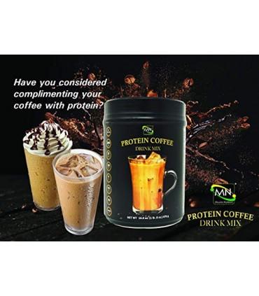 Muscle Nutrition پودر قهوه پروتئین 476 گرمی ماسل نوتریشن