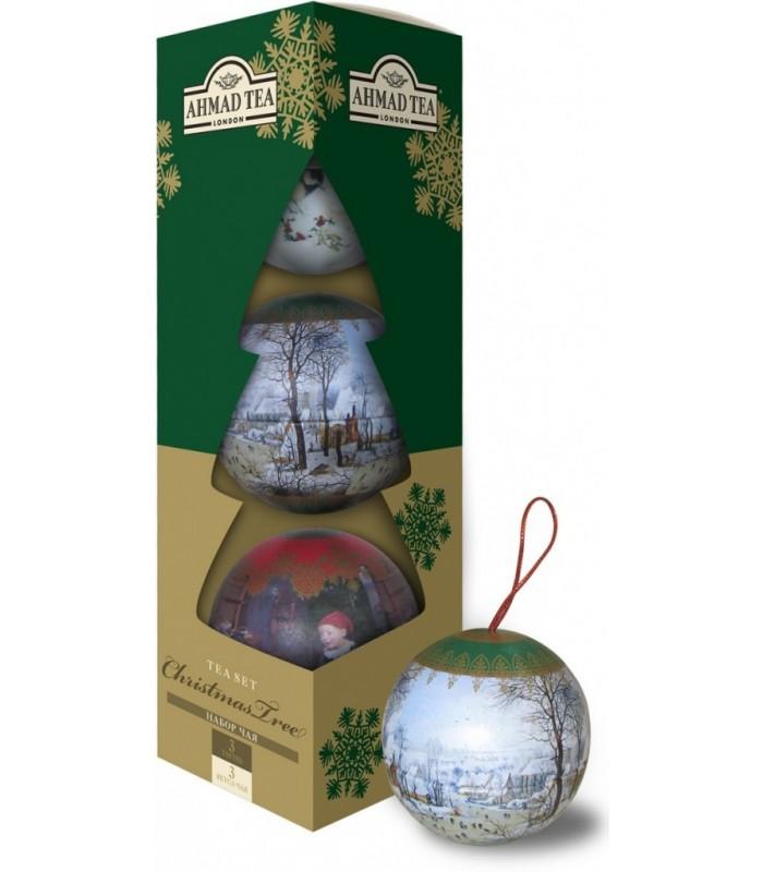 Ahmad Tea چای آویز درخت کریسمس 89گرمی احمد تی