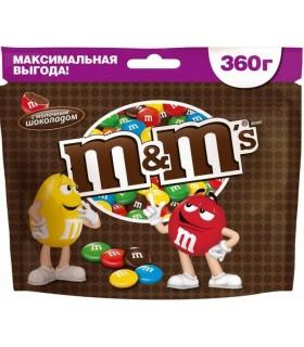 M&M's دراژه شکلات شیری 360 گرمی ام اند امز