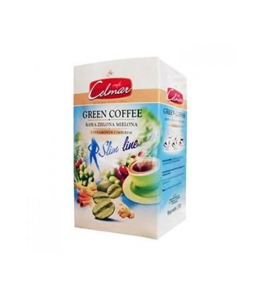 Celmar قهوه فوری سبز لاغری دارچین و زنجبیل 250 گرمی سلمار