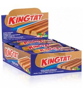 Elvan پک 24 عددی ویفر شکلاتی 22 گرم کینگ تت الوان