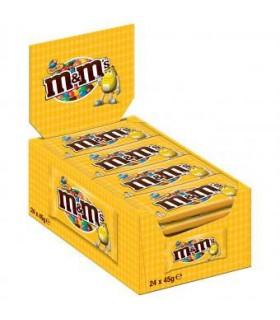 M&M's پک 24 عددی دراژه شکلات و بادام زمینی 45 گرمی ام اند امز