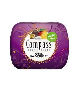 Compass قرص خوشبو کننده دهان انبه و پشن فروت 50 عددی کامپس