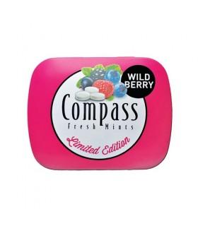 Compass قرص خوشبو کننده دهان توت وحشی 50 عددی کامپس