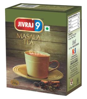 Jivraj چای ماسالا 250 گرمی جیوراژ