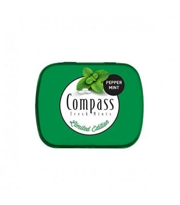 Compass قرص خوشبو کننده دهان نعنا فلفلی 50 عددی کامپس