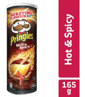 Pringles چیپس هات و اسپایسی 165 گرمی پرینگلز