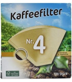 Filtropa فیلتر قهوه سایز چهار 100 عددی فیلتروپا