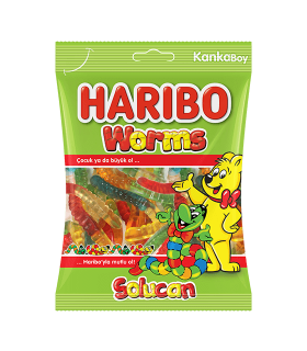 Haribo پاستیل میوه ای کرمی 160 گرمی هاریبو