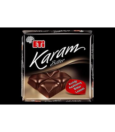 Eti شکلات تلخ 45% 70 گرمی کارام اتی
