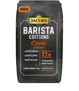 Jacobs دان قهوه باریستا کرما اینتنس 1 کیلویی جاکوبز