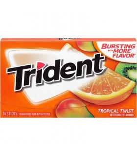 Trident آدامس پرتقال کیوی تریدنت