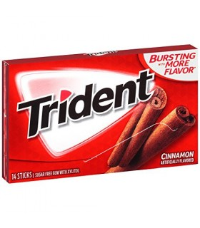 Trident آدامس دارچین تریدنت