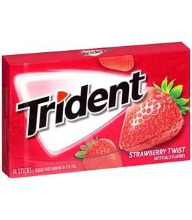 Trident آدامس توت فرنگی تریدنت
