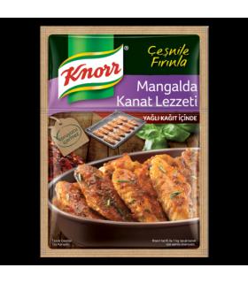 Knorr صفحه پخت بال مرغ همراه با ادویه مخصوص 32 گرمی کنور