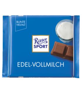 Ritter Sport شکلات شیری 35% فاین 100 گرمی ریتر اسپرت
