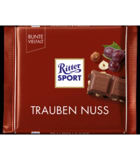 Ritter Sport شکلات فندق و کشمش 100 گرمی ریتر اسپرت