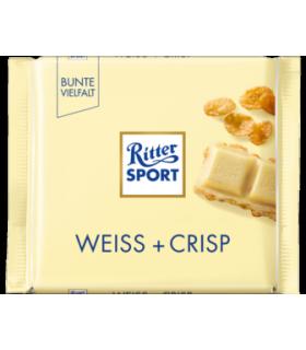 Ritter Sport شکلات سفید کریسپی 100 گرمی ریتر اسپرت