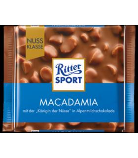 Ritter Sport شکلات ماکادامیا 100 گرمی ریتر اسپرت