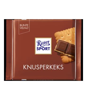 Ritter Sport شکلات بیسکویت کره ای 100 گرمی ریتر اسپرت
