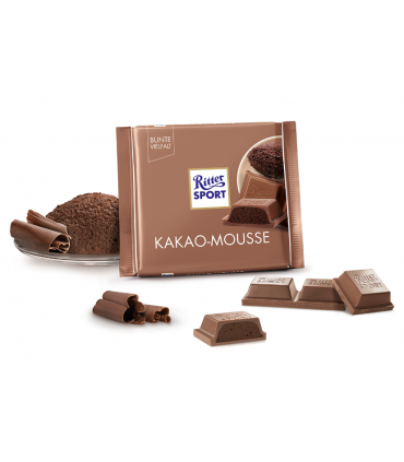 Ritter Sport شکلات موس کاکایو 100 گرمی ریتر اسپرت