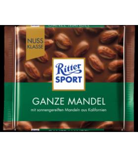 Ritter Sport شکلات بادام کامل 100 گرمی ریتر اسپرت