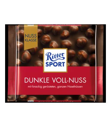 Ritter Sport شکلات دارک فندق کامل 100 گرمی ریتر اسپرت