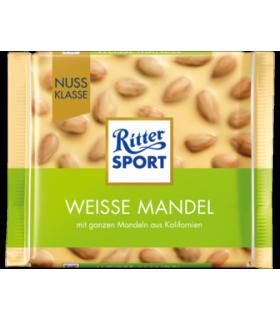 Ritter Sport شکلات سفید بادام 100 گرمی ریتر اسپرت