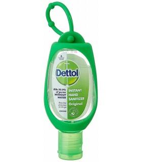 Dettol ژل ضد عفونی کننده دست اوریجینال با نگه دارنده کیف 50 میلی گرم دتول