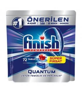 Finish قرص ماشین ظرفشویی کوآنتوم 80 عددی فینیش