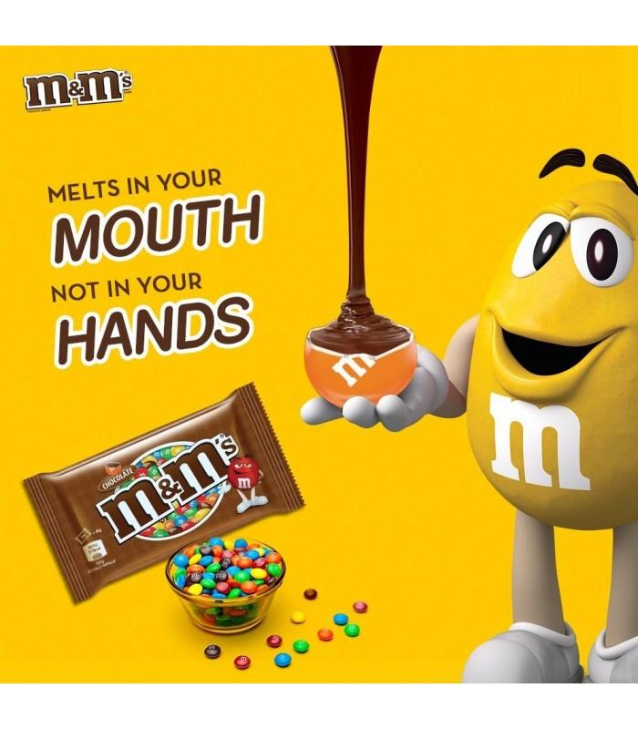 M&M's دراژه شکلات شیری 130 گرمی ام اند امز