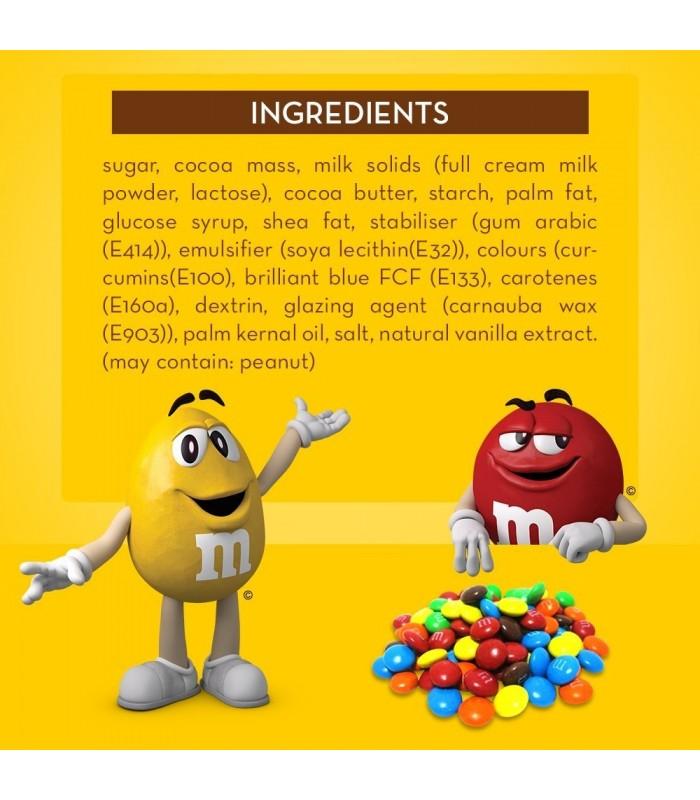 M&M's دراژه شکلات و بادام زمینی 130 گرمی ام اند امز