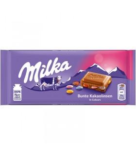 Milka شکلات شیری اسمارتیزی 100 گرمی میلکا