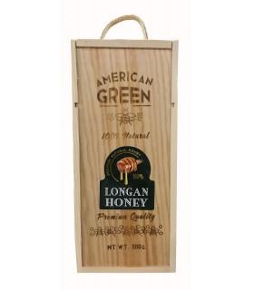 American green عسل خالص لونگان 800 گرمی امریکن گرین