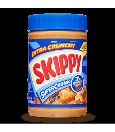 Skippy کره بادام زمینی سوپر چانک کم چربی و بدون گلوتن  462 گرمی اسکیپی