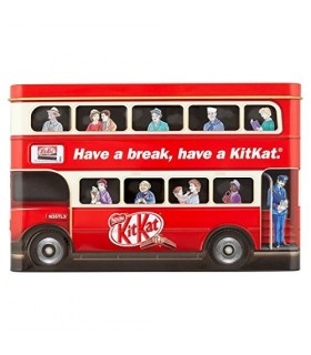 Kit Kat جعبه فلزی اتوبوس لندن شکلات کیت کت