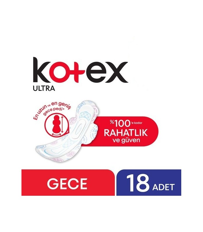 Kotex نوار بهداشتی مخصوص شب 20 عددی کوتکس